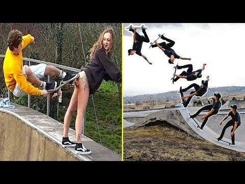 Xxx Mp4 BEST Skateboarding Tricks Of The Year 2018 3gp Sex