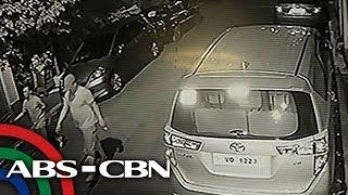 TV Patrol: Pulis na binaril ang nakaaway na lalaki, sapul sa CCTV!
