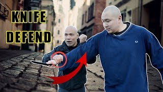How to defend if someone puts a knife on our neck