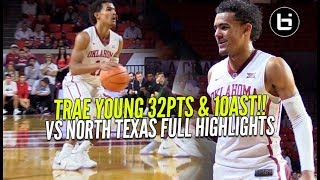 Trae Young Dropped 32Pts & 10Ast Vs North Texas! Full Highlights