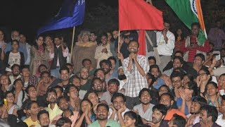 Anirban returns to JNU's Freedom Square - Full Speech | #StandWithJNU