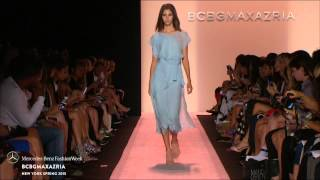 BCBGMAXAZRIA: MERCEDES-BENZ FASHION WEEK S/S15 COLLECTIONS