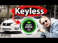 Why Push to Start Button (keyless) Cars are Stupid - DIY with Scotty Kilmer