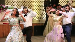 Best Indian wedding reception dance - 2017 (Bollywood & Punjabi dance)