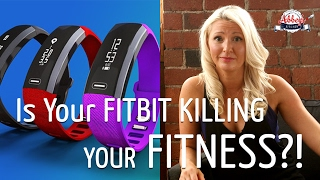 IsYour FITBIT KILLING Your FITNESS?! | Why I QUIT My Fitness Tracker | STRENGTH TRAINING vs CARDIO