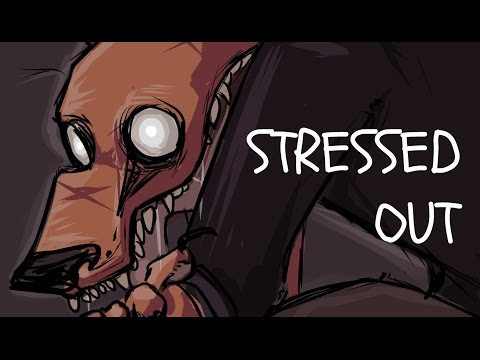 Speedpaint SAI -  stressed out