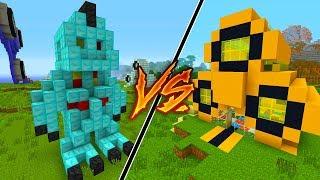 FIDGET SPINNER HOUSE vs DIAMOND HOUSE in Minecraft!