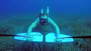 Underwater flying with Subwing - Croatia 2015
