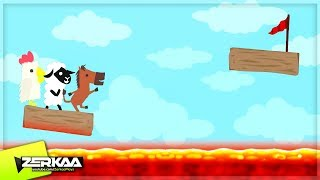 100% IMPOSSIBLE LAVA LEVEL! (Ultimate Chicken Horse)