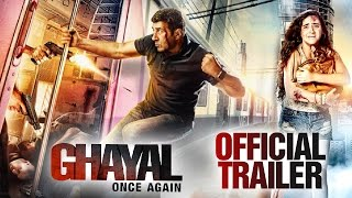 Ghayal Once Again Official Trailer || Sunny Deol,  Soha Ali Khan || Comming Soon