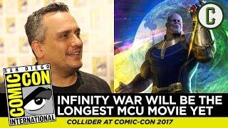 Avengers: Infinity War Will Be the Longest MCU Movie Yet, Says Director Joe Russo