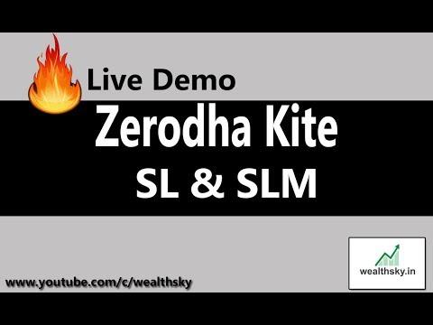 Xxx Mp4 Live Demo Of SL SLM Order In Zerodha Kite In Hindi 3gp Sex
