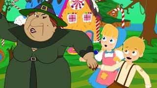 هانسيل و جريتل - قصص للأطفال - قصة قبل النوم للأطفال - رسوم متحركة - بالعربي