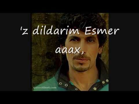 Sheyda xwezi esmer 2010 songtext lyrics Kurdish music شيدا خوزي اسمر