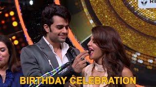 Team 'Jhalak Dikhhla Jaa 9' celebrates host Manish Paul's birthday with Media