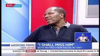 "Jonathan Moi's team mate, Kahumbura, ""I shall miss him"""