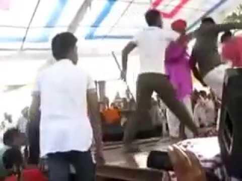 haryanvi sexy dancer sapna attack