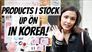 Beauty Products I Stock Up On in Korea | My Ride or Die Faves & Things I Buy a TON of.