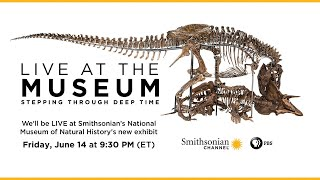 🔴Live at the Museum: Stepping Through Deep Time
