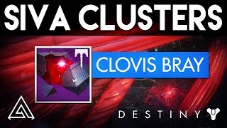 Destiny Rise of Iron | Dormant SIVA Clusters Guide -  All Clovis Bray 1.0 - 1.9 Locations