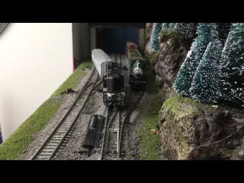 HO Scale Switching