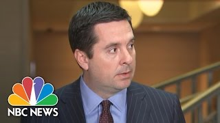 Devin Nunes: Trump Communications 'Incidentally' Collected By Intelligence Agencies | NBC News