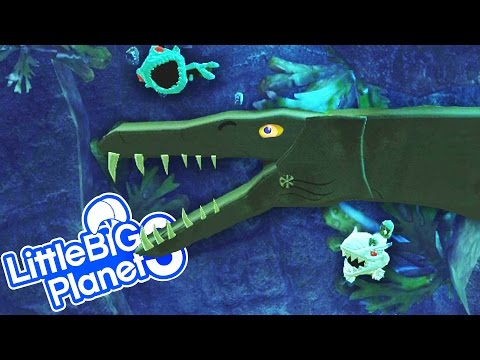 LBP3 - Jurassic World T Rex & Indominus Rex Collect Dinosaur Eggs in The Ancient Land of Dinosaurs 2