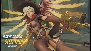 ►THIS IS WHAT 300 HOURS ON MERCY LOOKS LIKE► 22 Overwatch POTG/Highlights