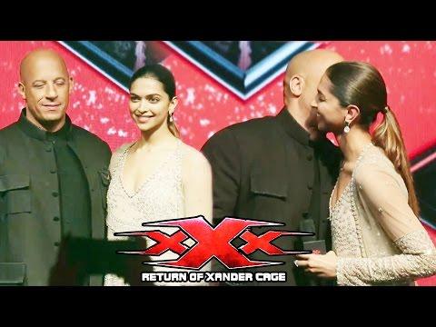 Xxx Mp4 XXx The Return Of Xander Cage Movie Promotion Vin Diesel Deepika Padukone 3gp Sex
