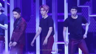 151017 The EXO'luXion in GUANGZHOU hurt  (Baekhyun focus)