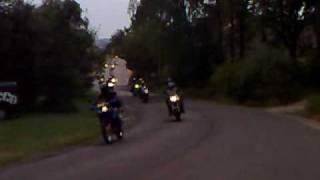 Spanilá jízda motopárty Lužany