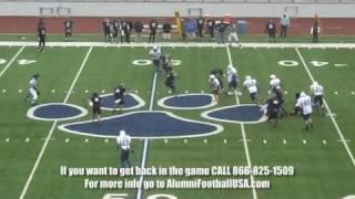 Hale Center vs Olton Alumni Football USA Game 4/17/10