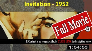 Invitation (1952) - Full HD Movie Online