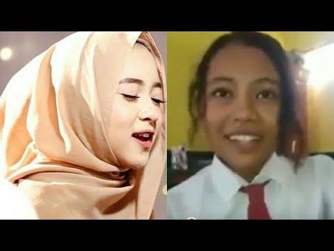 Viral !! Suaranya mirip Nissa Sabyan, anak SD ini jadi viral ...