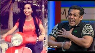 Salman Khan Reaction on Dilon Ka Shooter (Hai Mera Scooter) | Salma Khan Vs Dhinchak Pooja