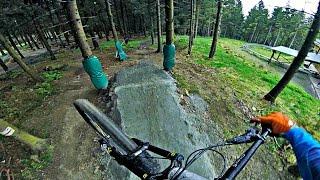 favourite track at bikepark hahnenklee - old Downhill [ gopro RAW ]
