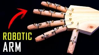 How to Make a Robotic Arm at Home