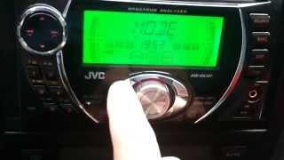 JVC KW-XG701 Double din/AUX input/CD/USB