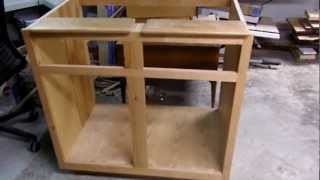 The Bearded Carpenter cabinet project.MP4