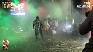 🔴 Live du concert de Black T au palais des congrès de Lomé.