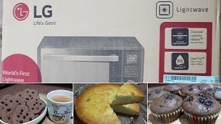 A Microwave which can do anything, yes Manythings | LG 32L Convection Microwave Oven MJ3286BRUS