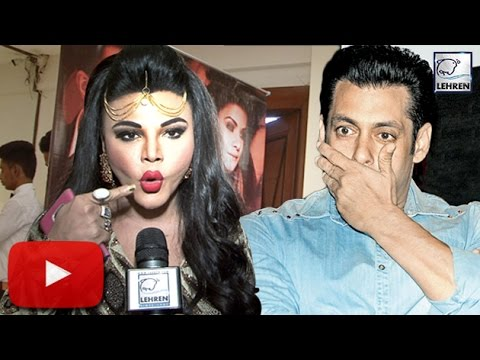 Rakhi Sawant's DUMB Reaction On Salman Khan 'Raped Woman' Comment | LehrenTV