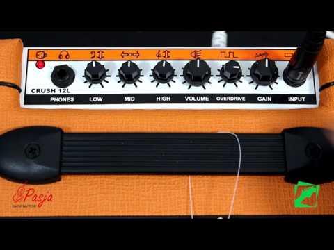 Orange Crush 12L - demo, reamping test