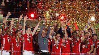 Guardiola lloró al ganar su último título con el Bayern
