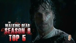 The Walking Dead Season 6 Episode 9 No Way Out - Top 5 Best Moments!