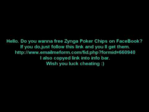 Free Zynga Poker Chips Hack instant all chips you ever wanted