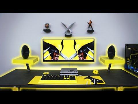 7500 Ultimate Wolverine Desk Setup Time Lapse