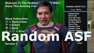 Random ASF Superman Mod For MW2 Killing Some Bots OG Style