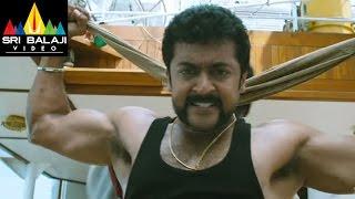 Singam (Yamudu2) Climax Fight Scene | Suriya, Anushka, Hansika | Sri Balaji Video