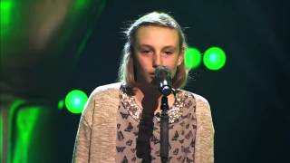 13-Year Old Jasmine Sings Radioactive By Imagine Dragos - Voice Kids